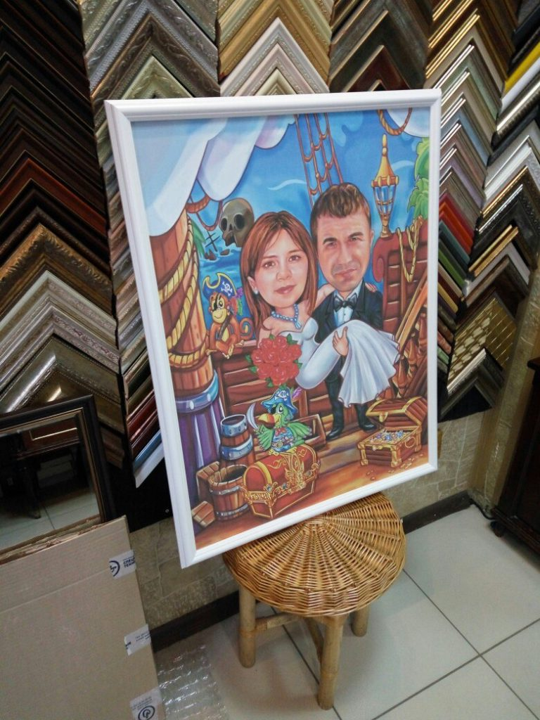 портрет шарж на заказ в новосибирске