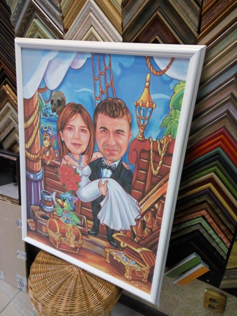 шарж по фото на заказ в новосибирске