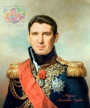 Портрет по фото на холсте в подарок мужчине на 23 февраля Новосибирск
