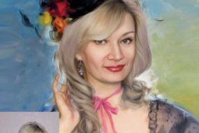 Заказать арт портрет по фото на холсте в Новосибирске…
