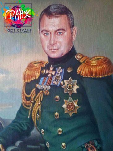 Заказать портрет маслом в Новосибирске